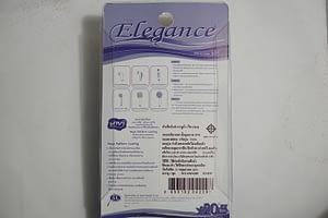 เฉพาะหัวชำระ Elegance สีขาว EG4229