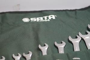 ประแจแหวนข้างปากตาย SATAชุด 11PCs 09064 (8-24 มิล)