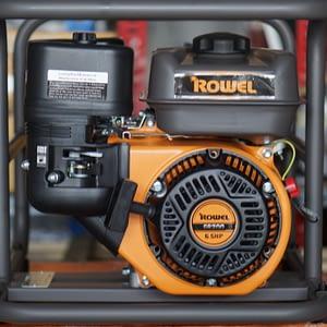 """ปั๊มน้ำเครื่องยนต์ ROWEL 2"""" 6.5 HP RW WP20S"""
