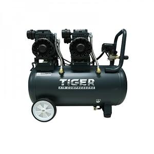 ปั๊มลมไร้น้ำมัน Oil free Tiger 50L Jaguar-50