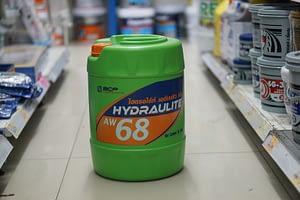 น้ำมันไฮโดรลิค บางจาก AW68 18L