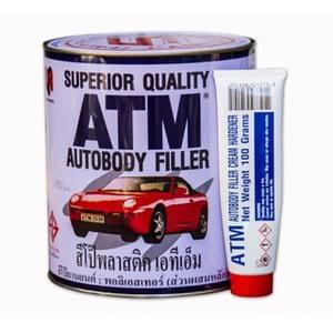 สีโป๊วแดง (A+B) ATM 4.5kg AT1611-01+16NB6643