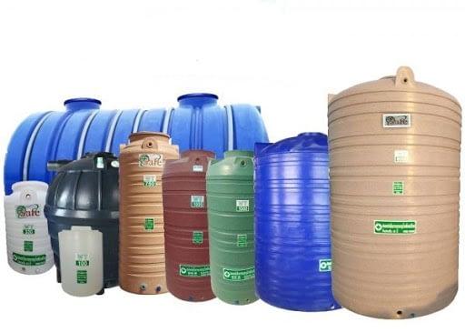 ถังเก็บน้ำและถังเก็บบำบัด
