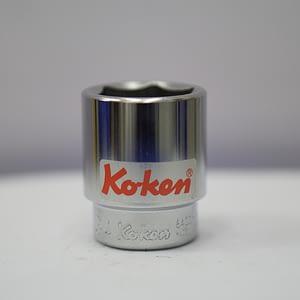 """ลูกบ๊อกสั้น Koken 3/4"""" 6P 34 มิล 6400M"""