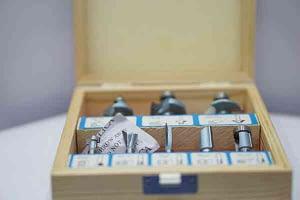 """ชุดดอกเราเตอร์ VALU ก้าน 1/4"""" 8Pc. LC-0088 V105"""