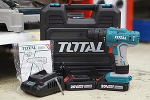 สว่านแบตเตอรี่ไร้สาย 20 V Total รุ่น TDLI20012