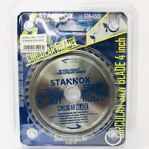 """ใบเลื่อยวงเดือน 4""""*40T STANNOX STN-45101"""