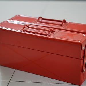 """กล่องเครื่องมือเหล็ก MITSANA 2ชั้น 14"""" #08"""