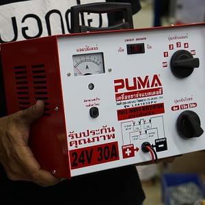 ตู้ชาร์จแบตเตอรี่ 30A PUMA *24V