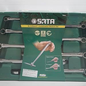 ประแจแหวนข้าง SATA X-Beam 8 ตัวชุด 8-19 มิล 94608005