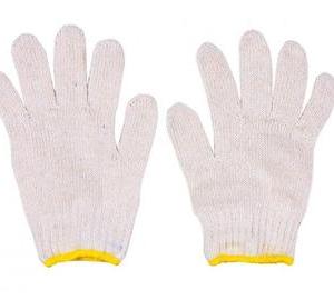 ถุงมือขอบเหลือง
