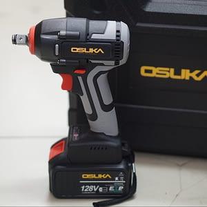 บล็อกแบตเตอรี่ไร้สายไร้แปลงถ่าน 128V สีเทา OSID-3810-1 Osuka