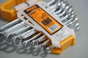 ชุดประแจแหวนข้างปากตาย 8 Pcs/ชุด INGCO HKSPA1088