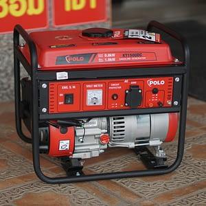 เครื่องปั่นไฟ เครื่องกำเนิดไฟ POLO รุ่น KT1500DC