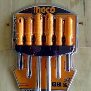 ชุดไขควงINGCO 6PCs HKSD0658